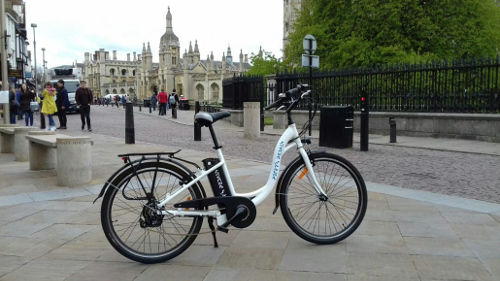 Electric bicycle from Cambridge Electric Transport reviewed in UK Property forum.