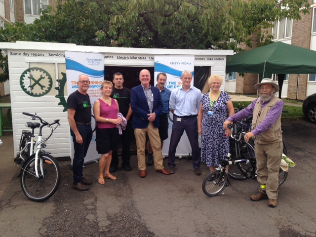 Campus Cycle Hub opening: same day bike repairs and servicing