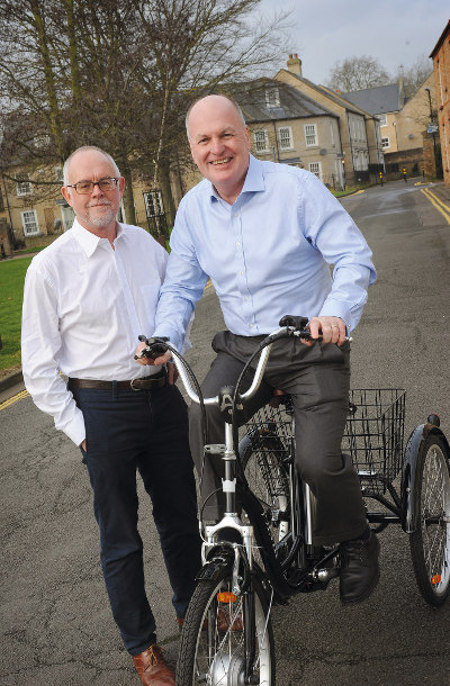 Cambridge Electric Transport founders: Sean Moroney & Peter Dawe