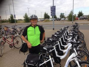 Electric-bike pilot at Cambridge Science Park
