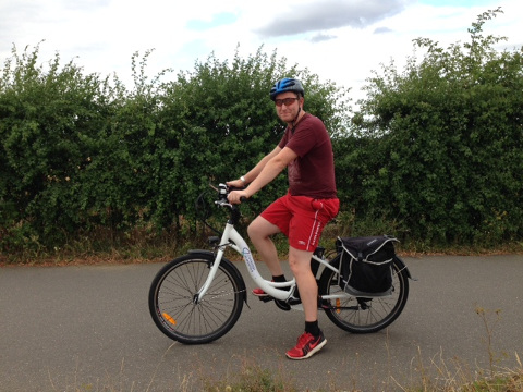 Cambridge Electric transport offers free electric bike hire from Longstanton to Science Park