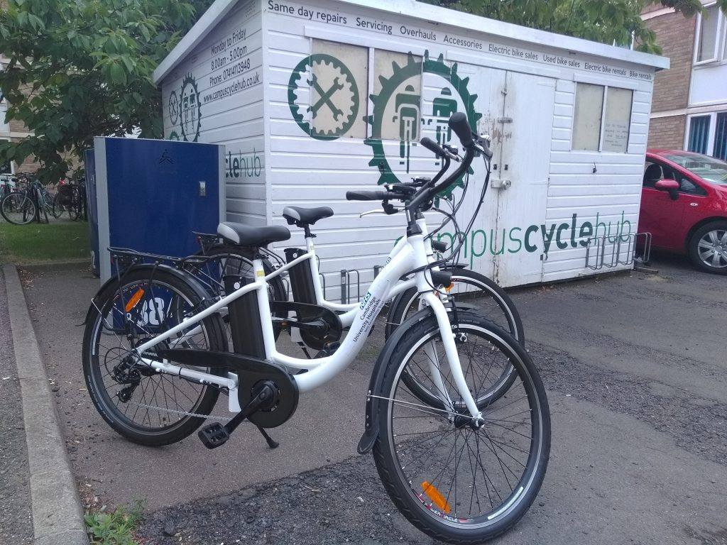 Addenbrooke's Cycle Campus Hub