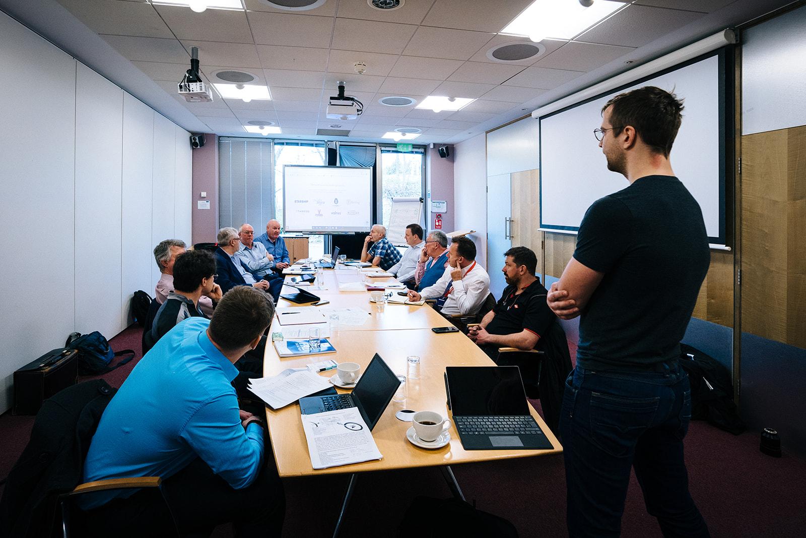 CitiPod Team Meeting, Cambridge, 29 January 2020